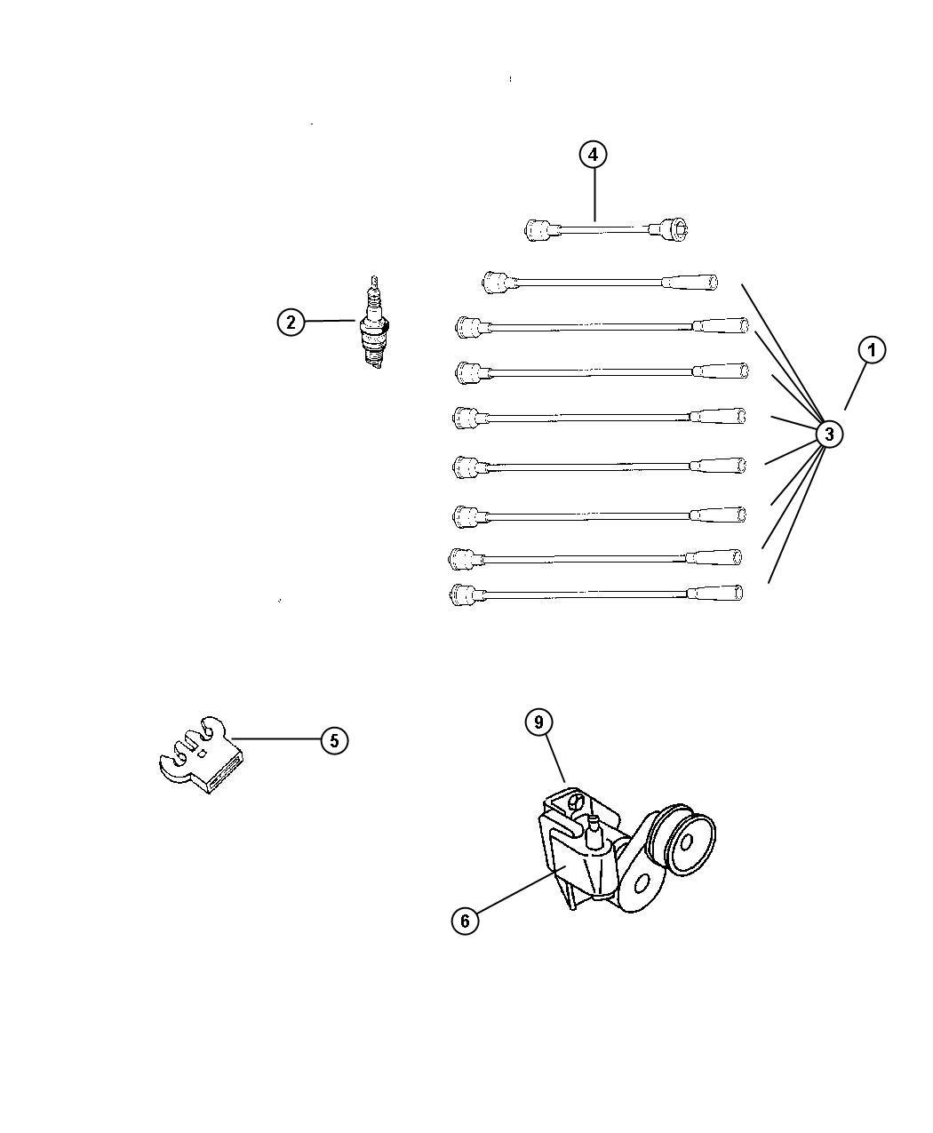 Dodge Challenger Spark Plug Plugs Ignition Engine