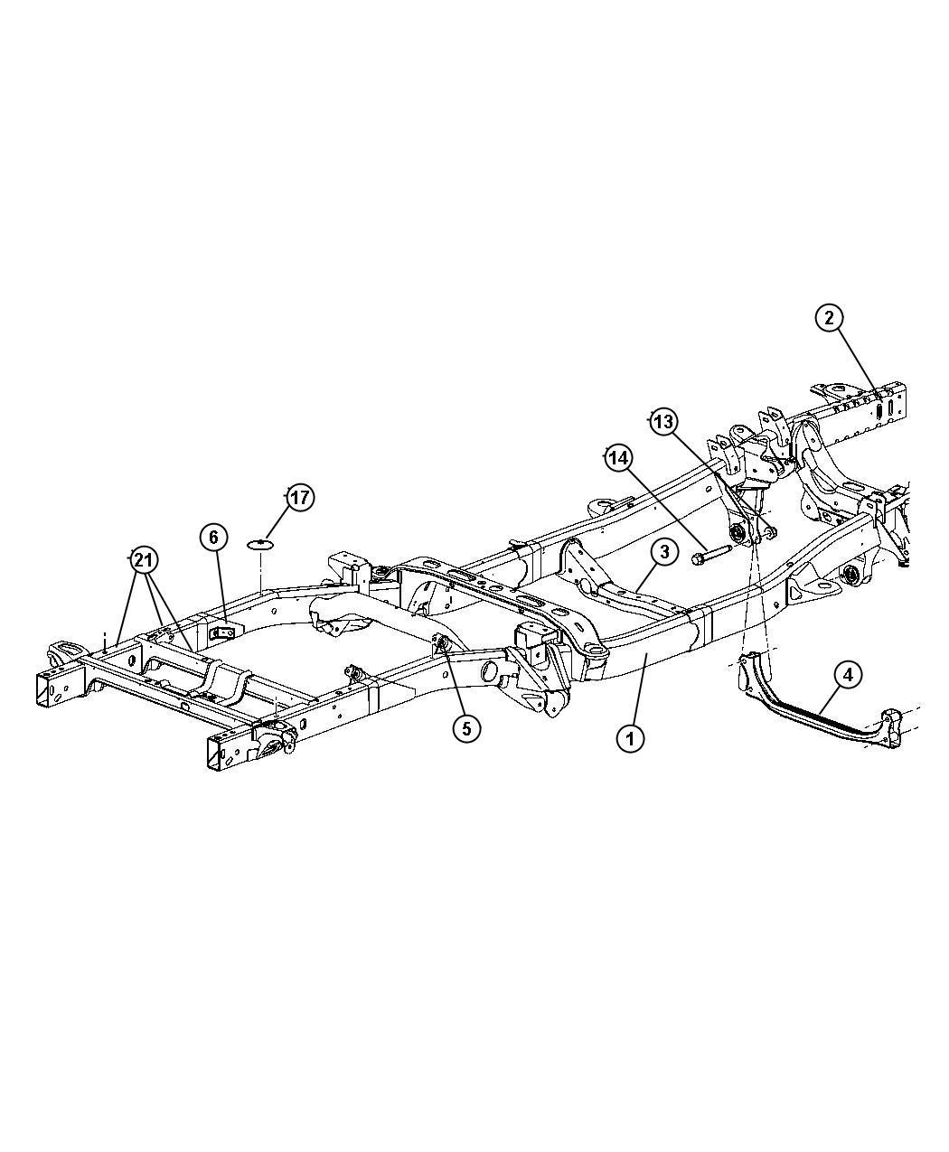 Dodge Ram Crossmember Transmission