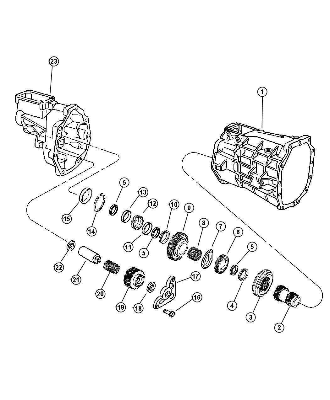 Dodge Viper Synchronizer Reverse System
