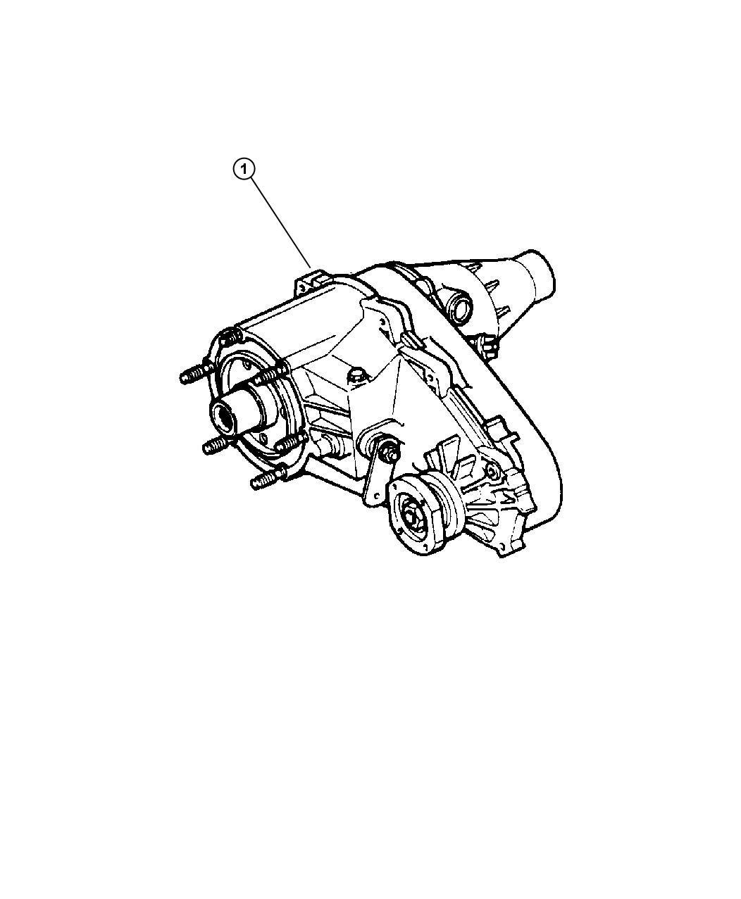 Dodge Dakota Transfer Case Nv233 Remanufactured