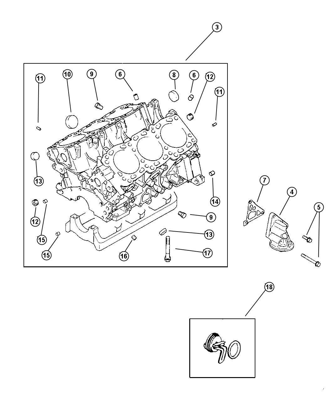Chrysler Cirrus Plug Instrument Panel Switch Cylinder