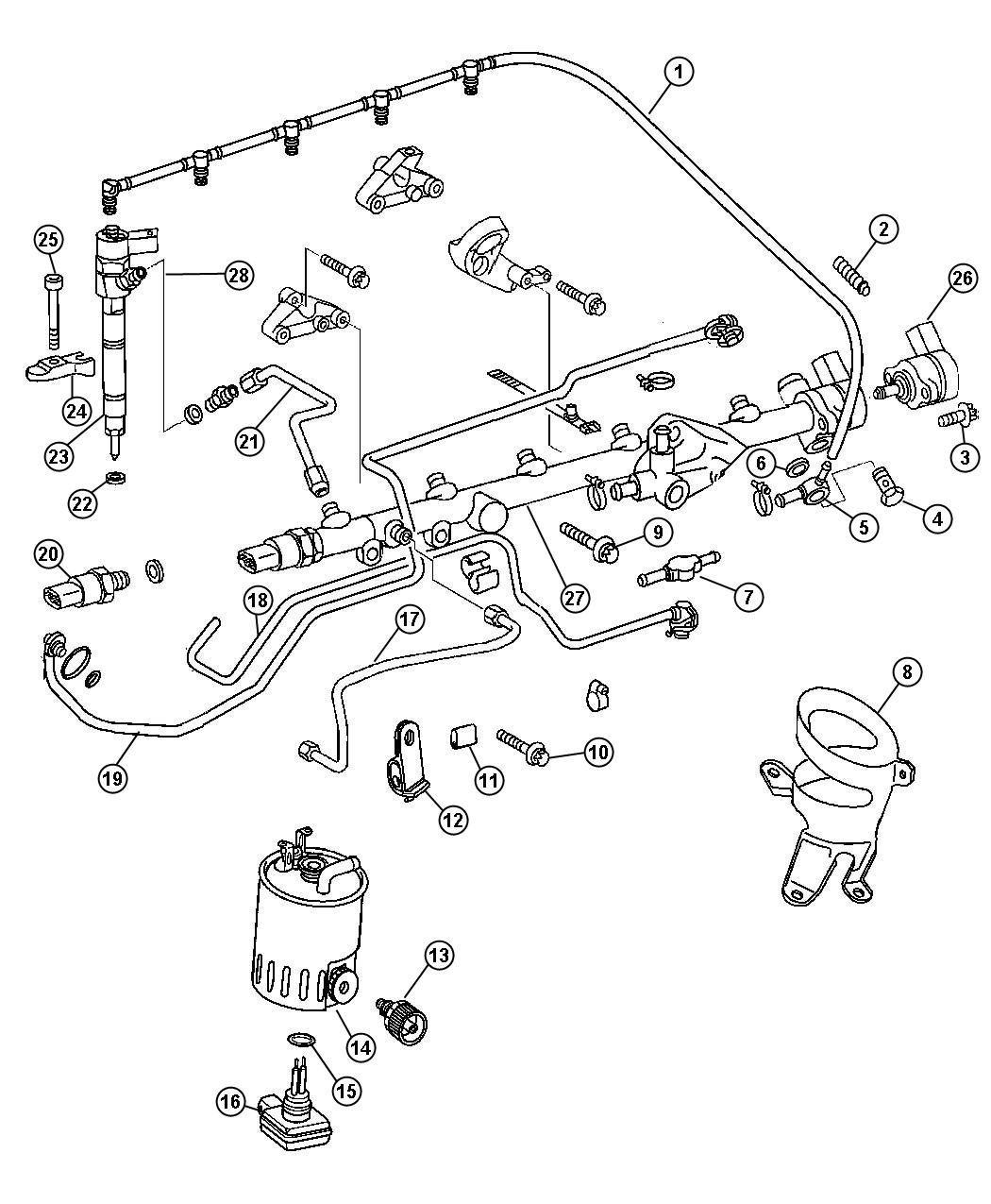 Dodge Sprinter Injector Fuel Remanufactured