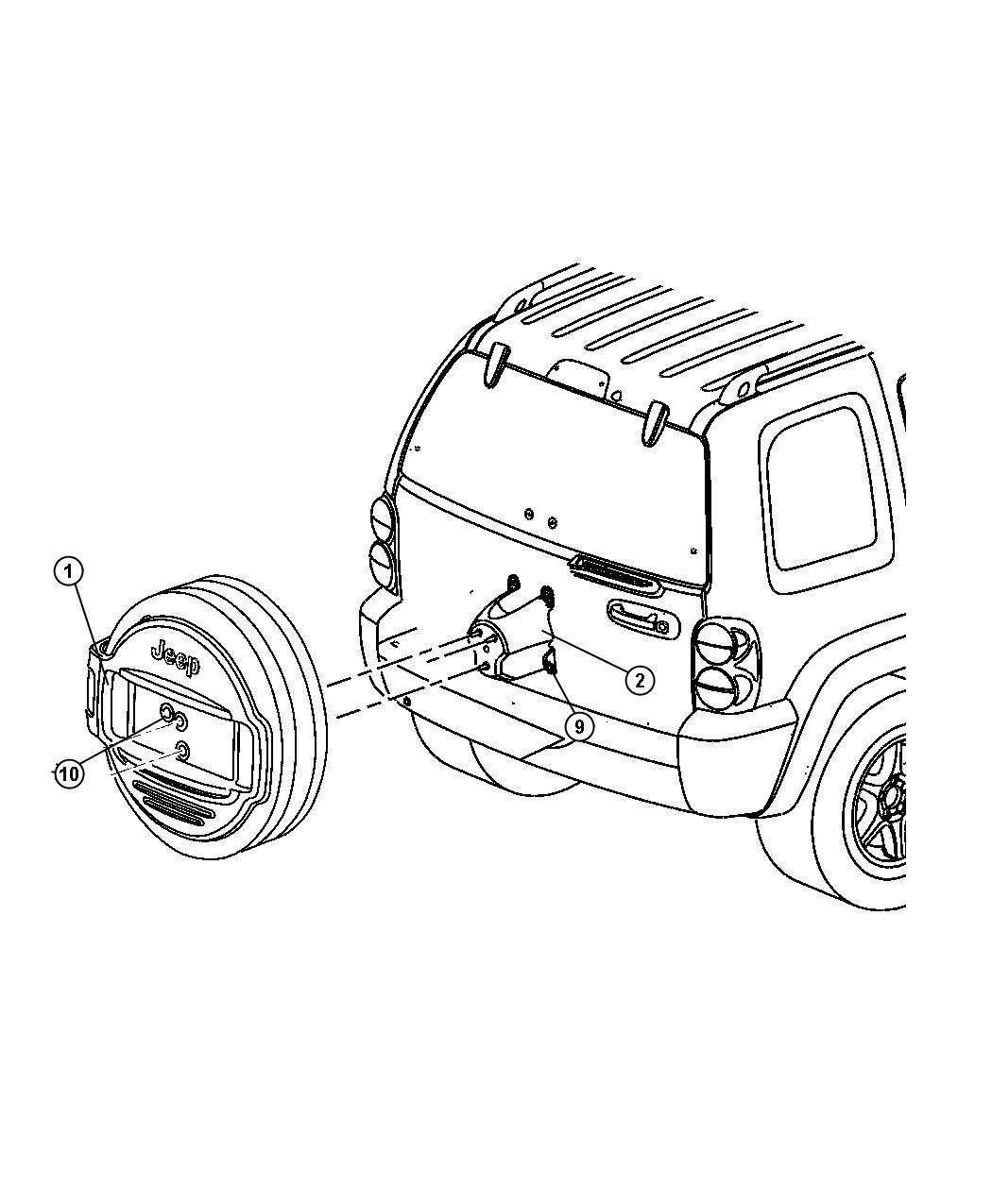 Jeep Liberty Transmission Control Module Sketch