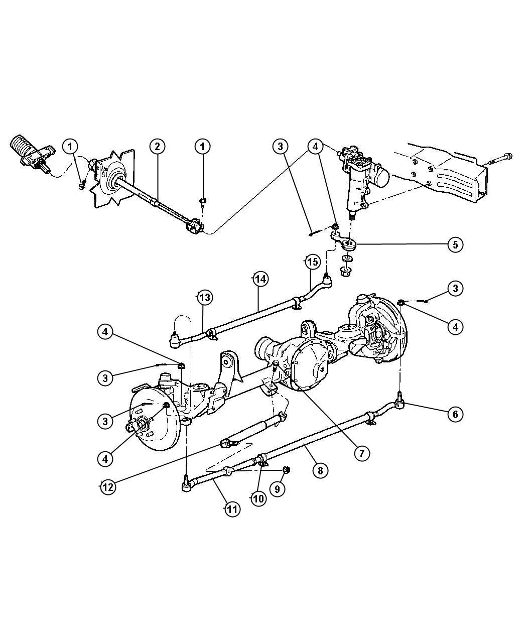 Chrysler Pt Cruiser Socket Tie Rod Outer Right