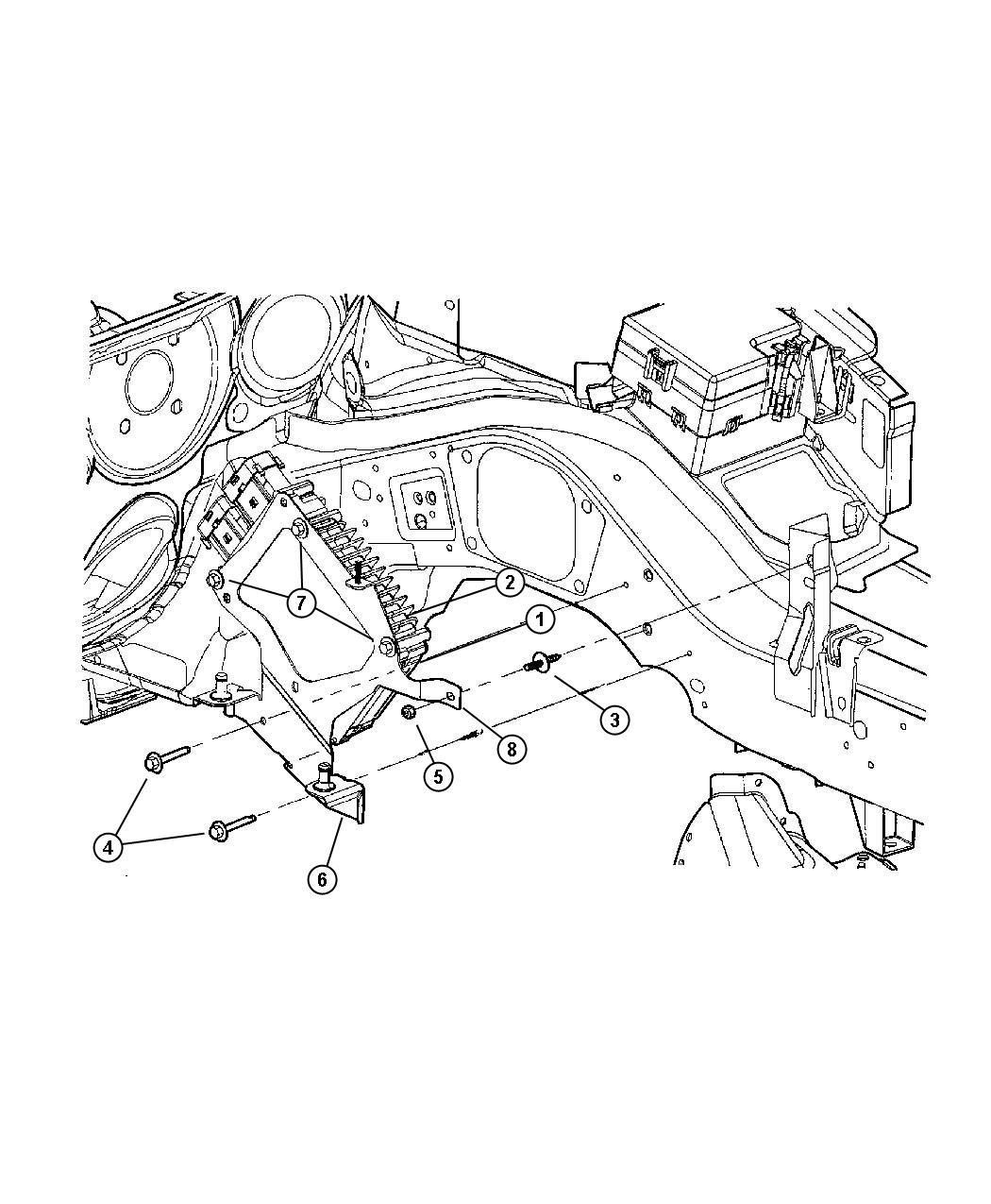 Dodge Stratus Module Powertrain Control Generic Reman