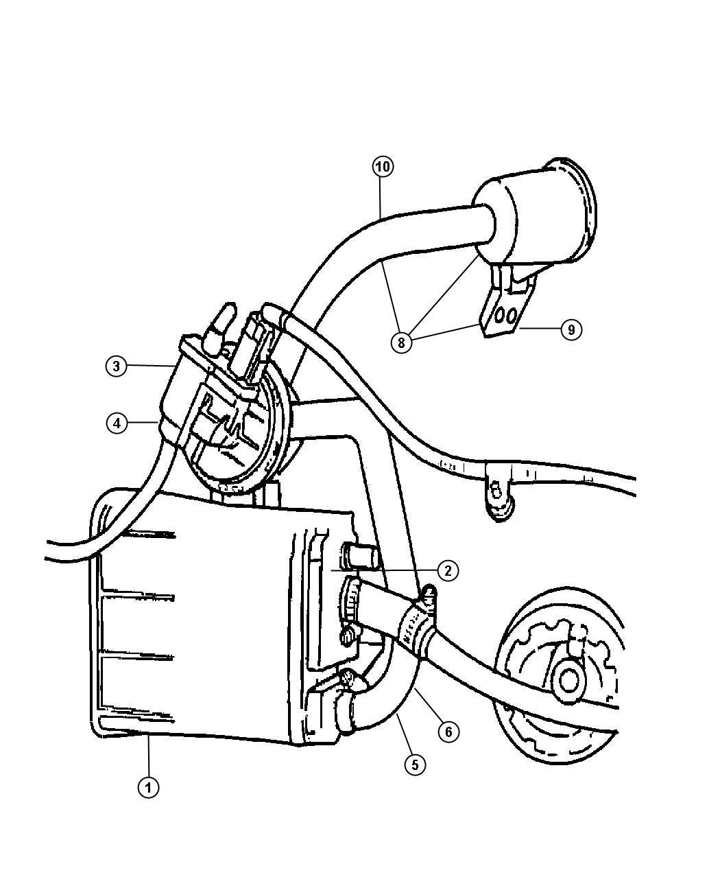 Jeep Grand Cherokee Pump Leak Detection Emissions