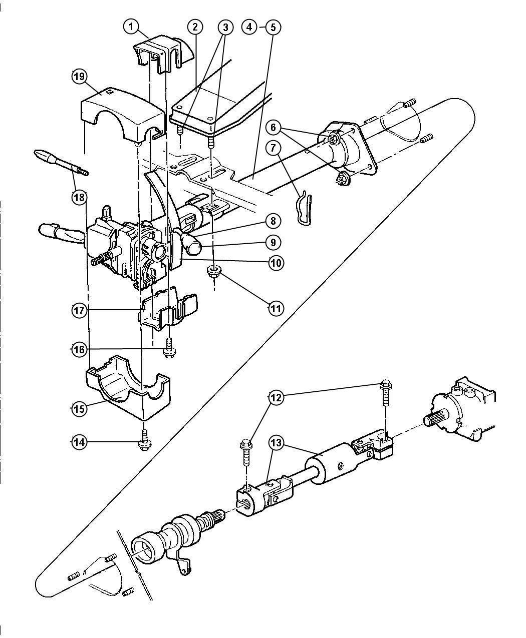 Jeep Wrangler Switch Ki Ignition Upto 10 1 97