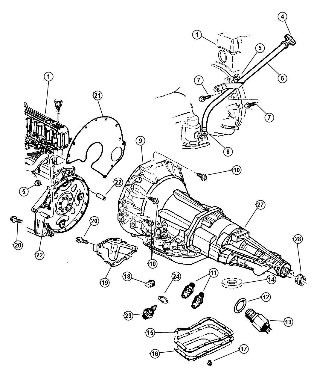 Dodge Ram Switch Neutral Safety Back Up