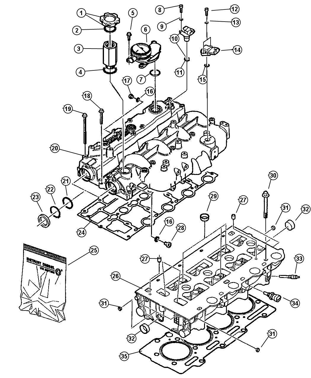 Chrysler 200 Sensor Camshaft