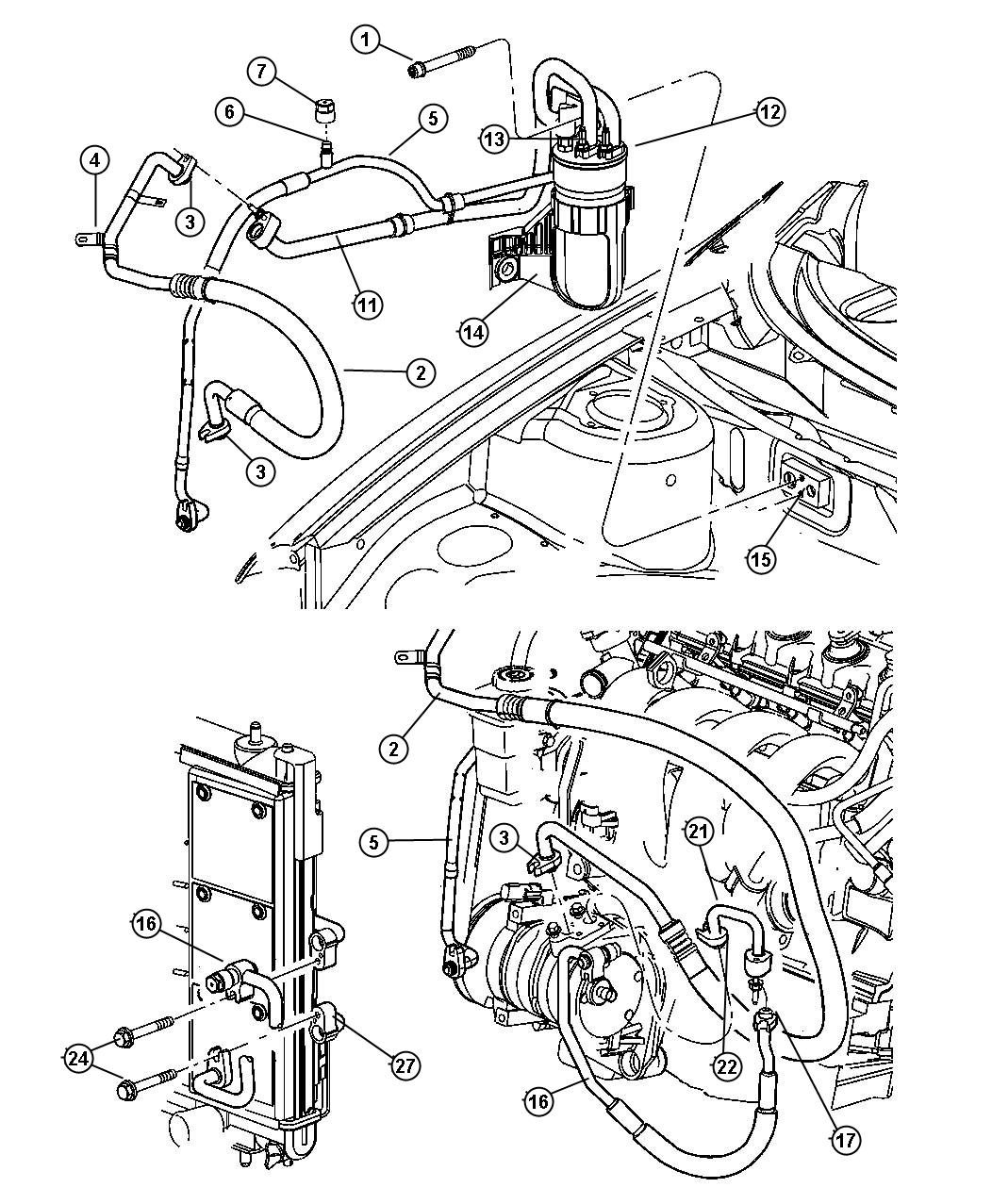 Vehicle 2005 Dodge Neon Engine Diagram