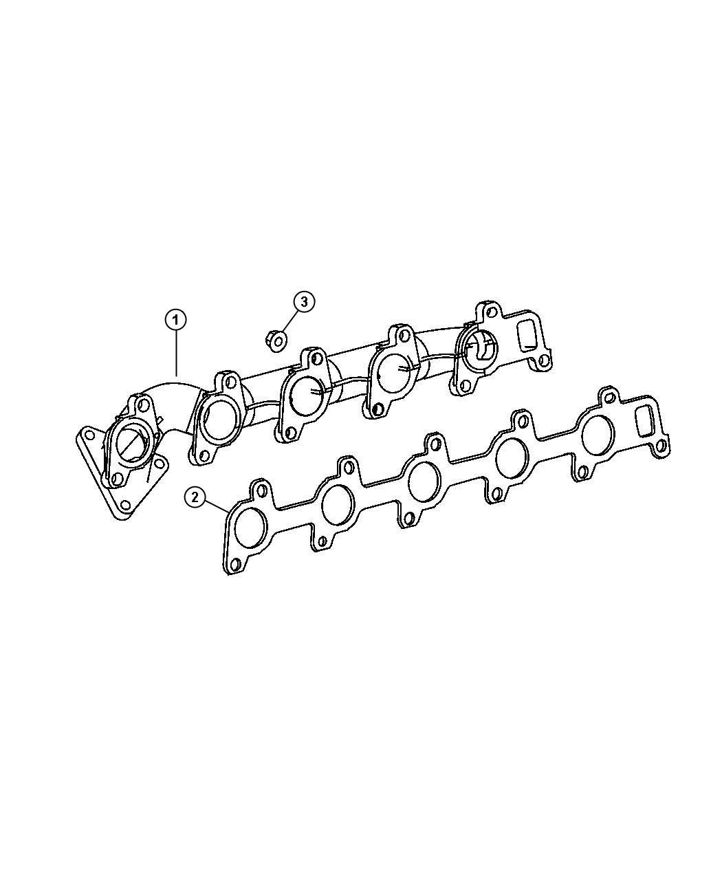 Dodge Sprinter Manifold Exhaust