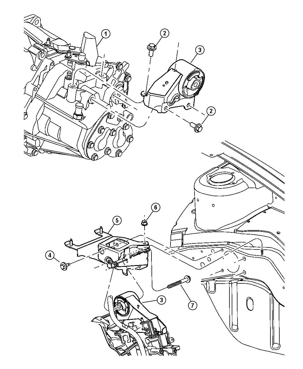 Jeep Compass Support Engine Mount Manual