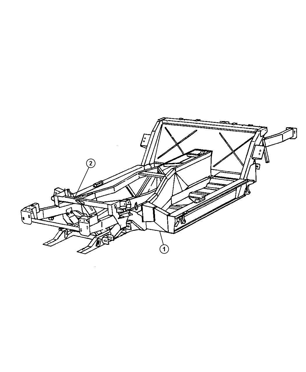 Dodge Viper Frame Chassis Service Engine