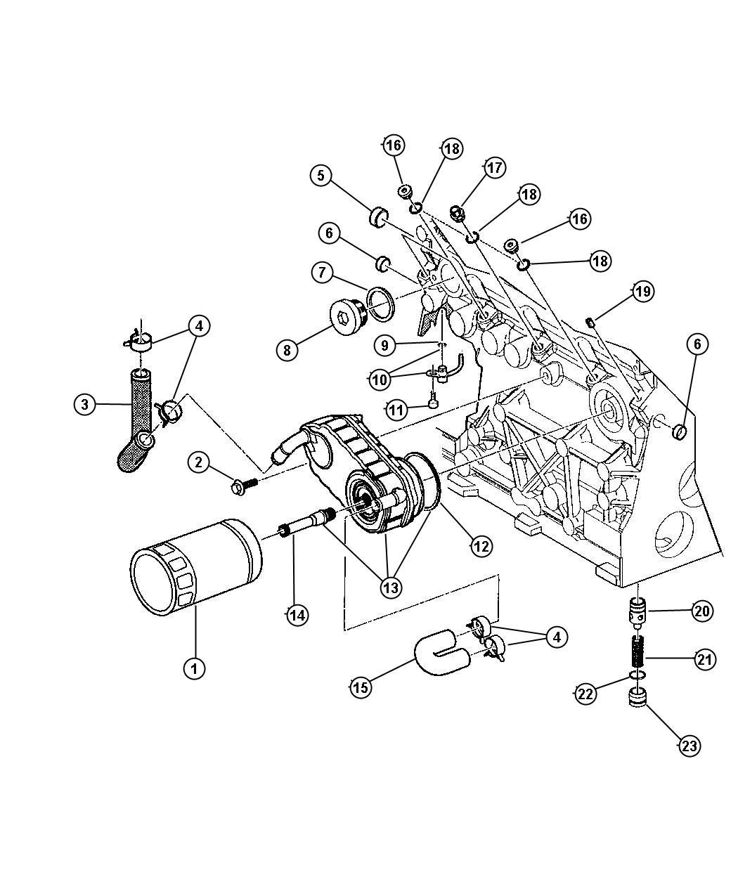 Dodge Dart Valve Oil Pressure Relief