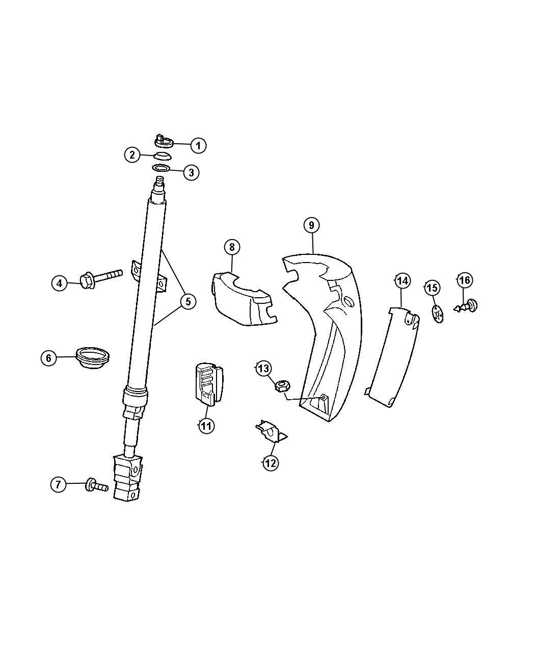 Dodge Sprinter Column Steering