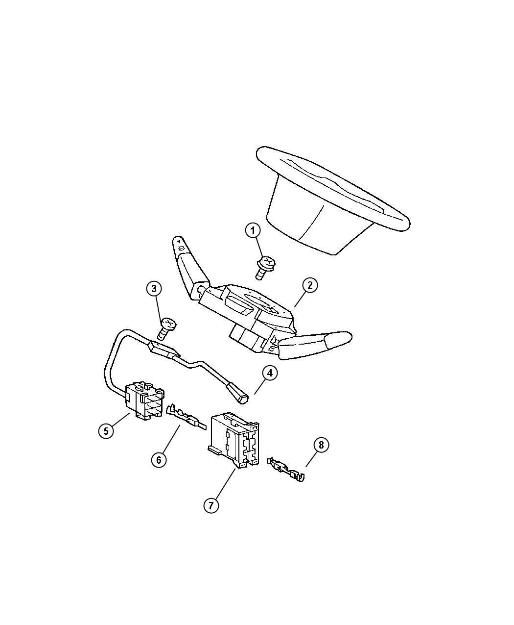 Dodge Sprinter Sensor Steering Wheel Angle