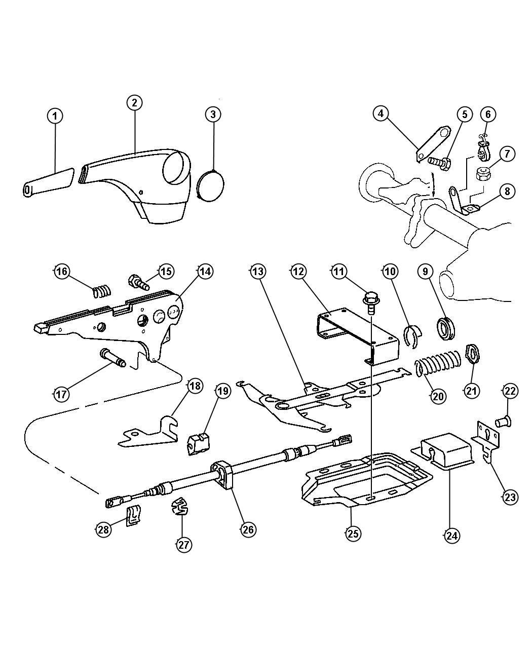 Dodge Sprinter Bracket Hand Brake Wheelbase