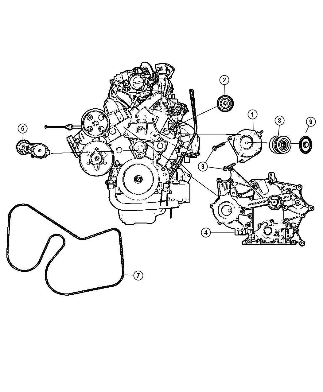 Dodge Grand Caravan Generator Engine Alternator