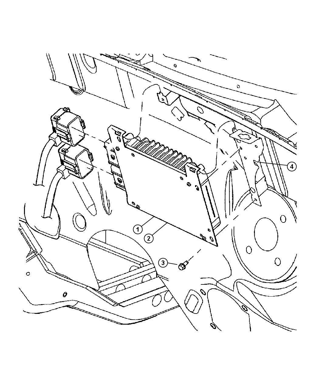 Dodge Dakota Module Powertrain Control Generic