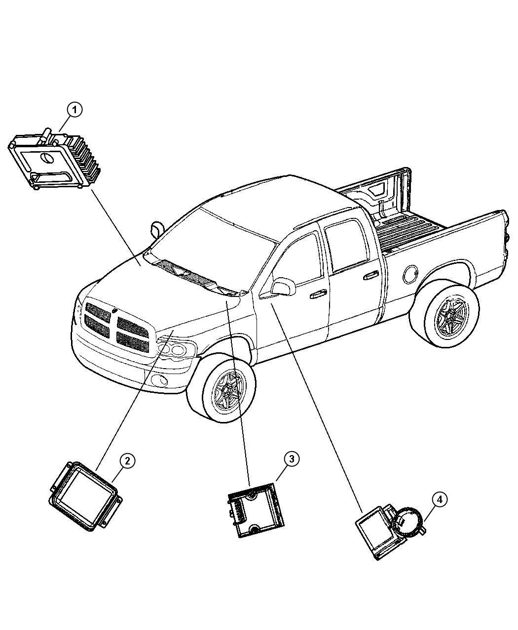 Jeep Liberty Module Front Control Modules Mopar