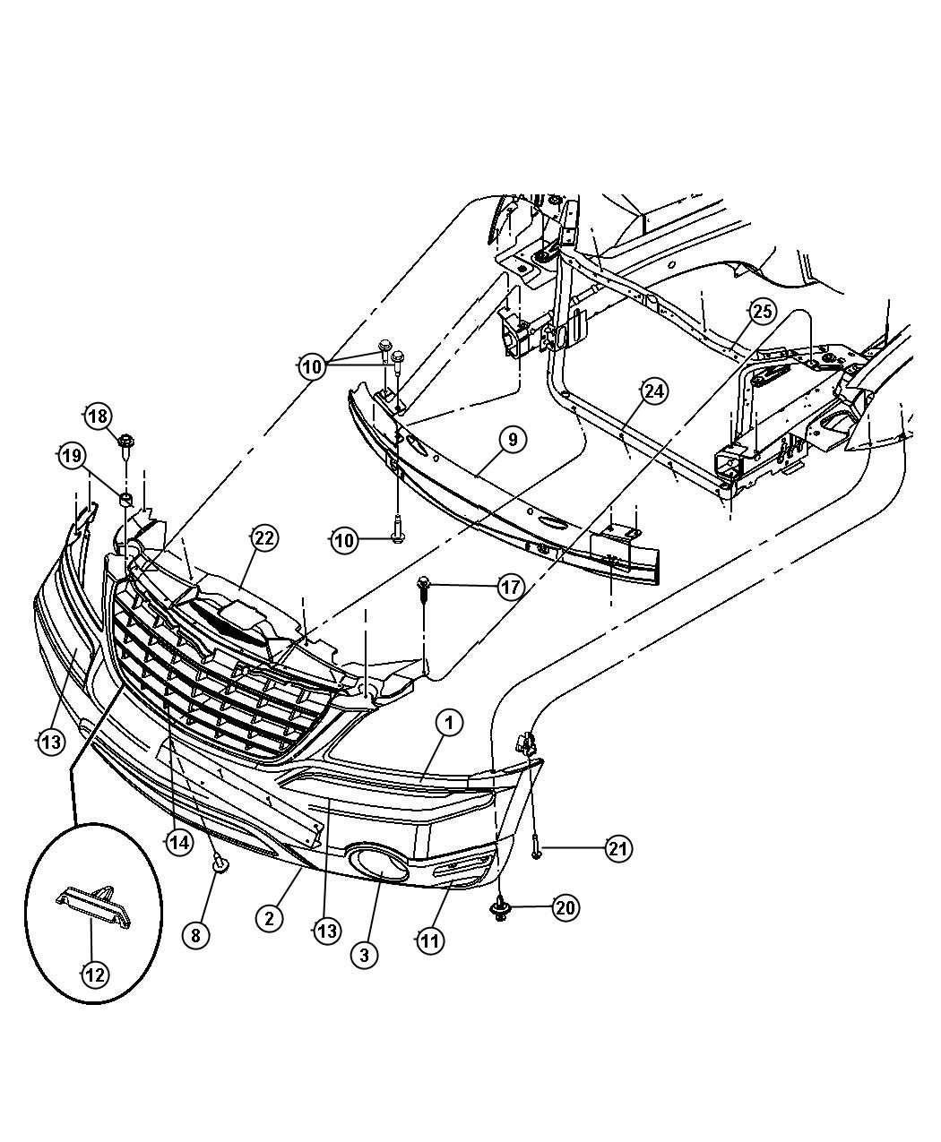 Wiring Diagram 34 Chrysler Pacifica Parts Diagram