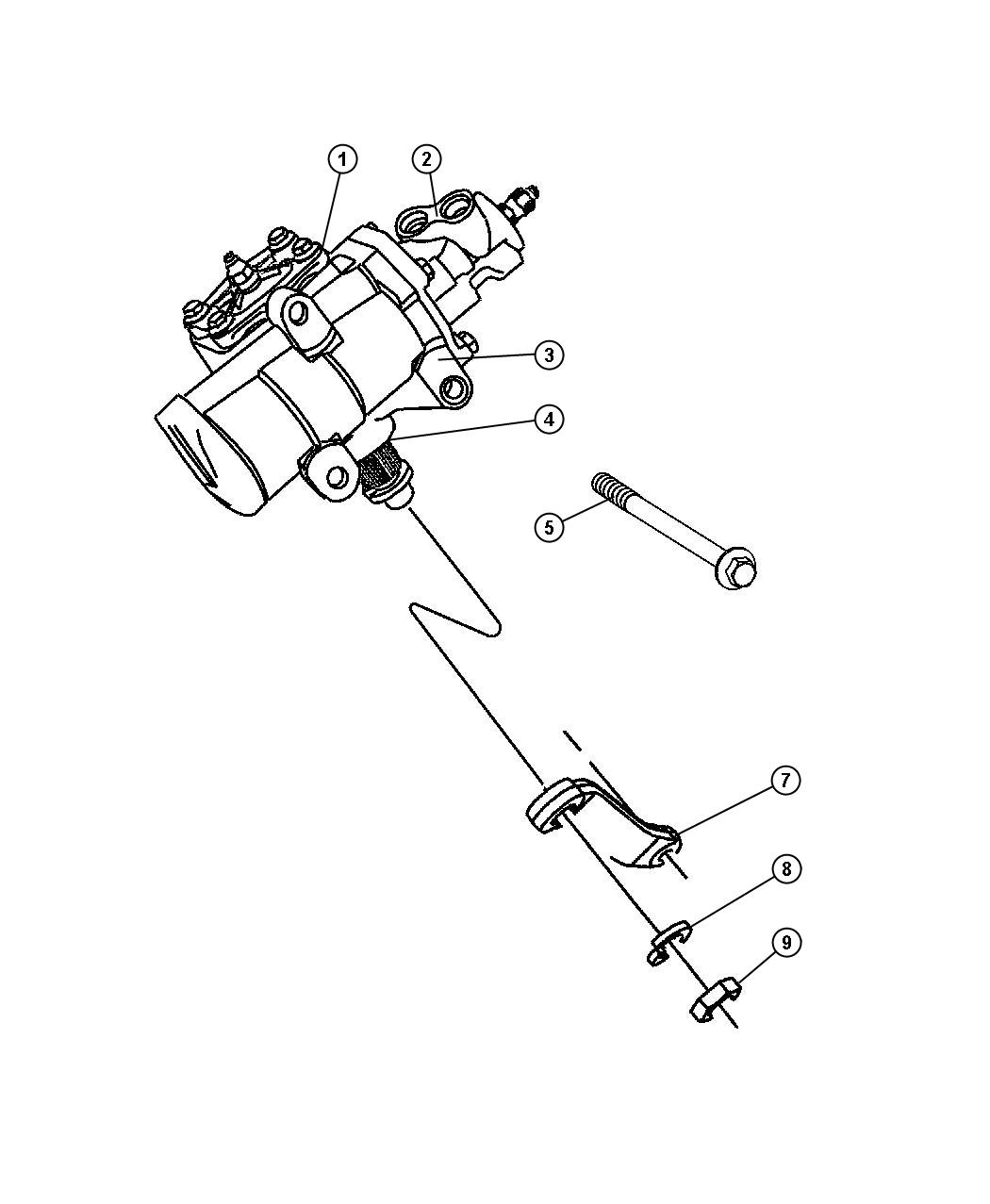 Jeep Patriot Gear Power Steering Used For Rack And