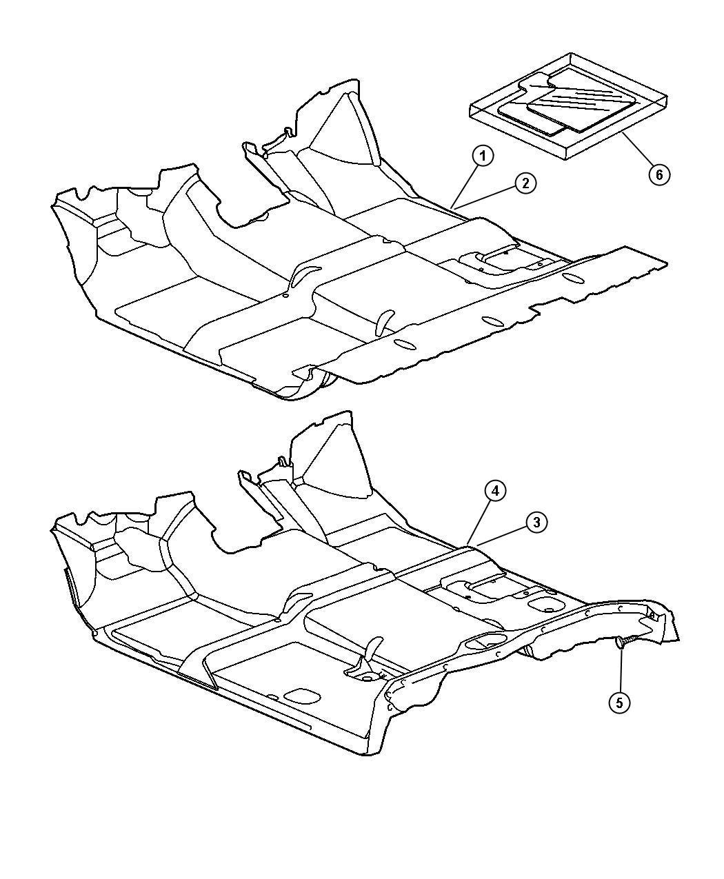 Chrysler 300 Mat Kit Slush Mats Floor