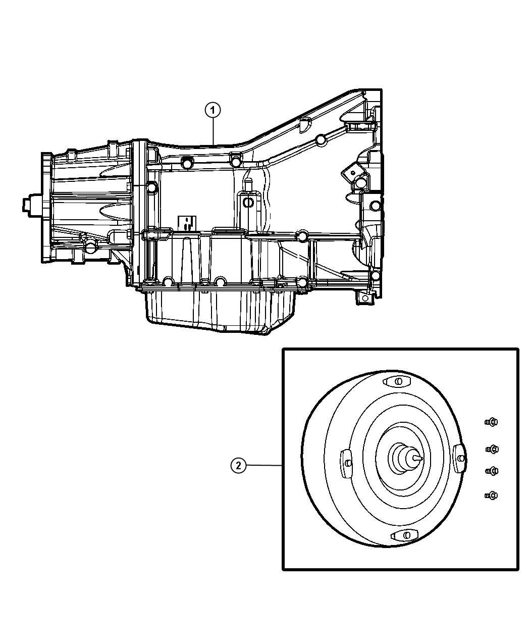Dodge Dakota Transmission Package Assembly