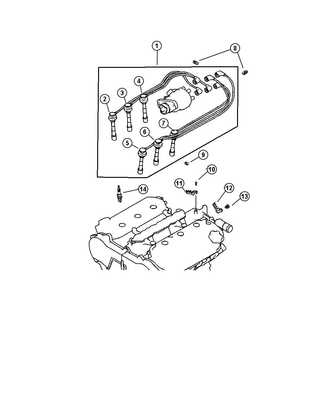 Dodge Stratus Spark Plug Maintenance Electrical