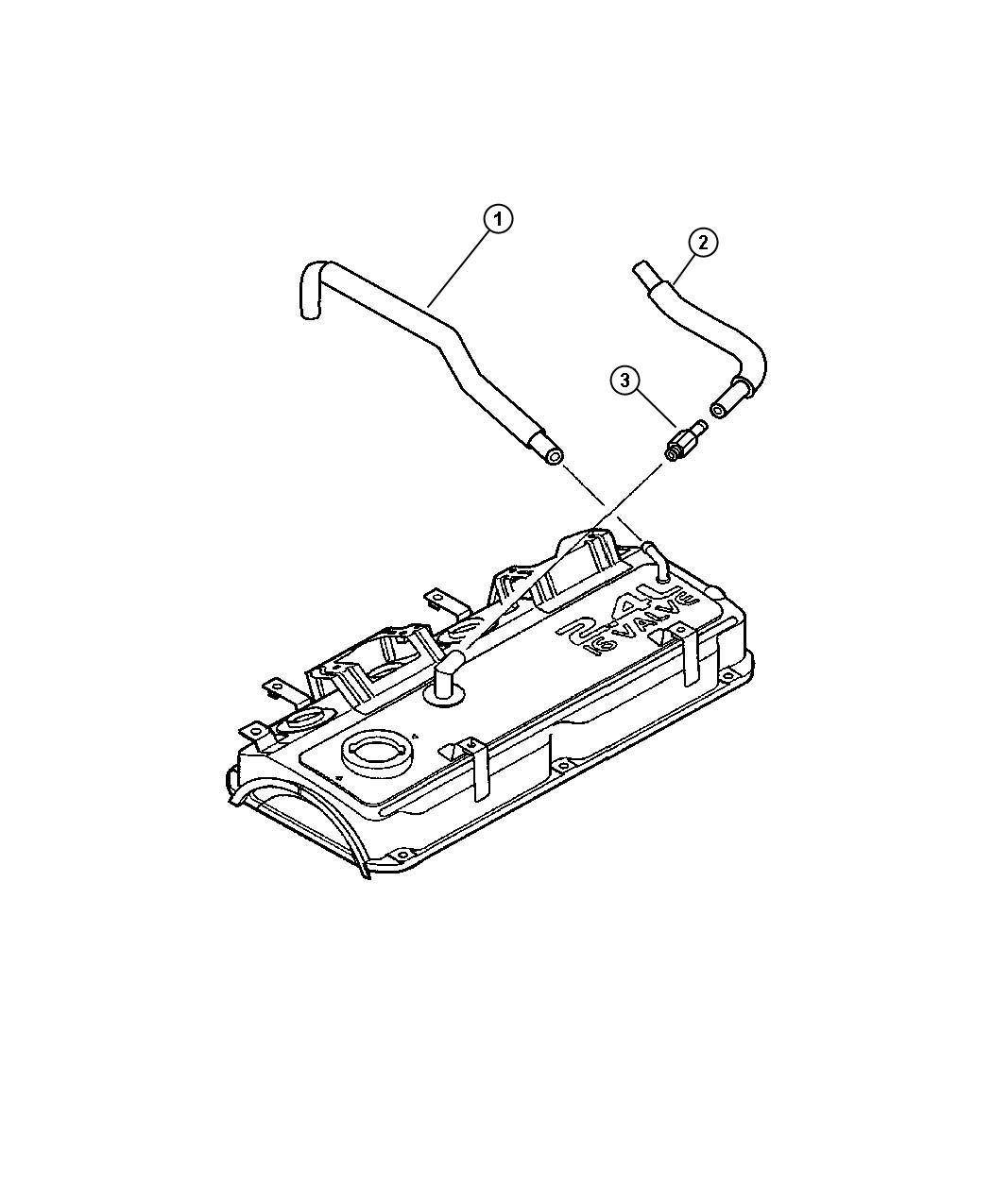 Chrysler Sebring Valve Pcv Ventilation Crankcase