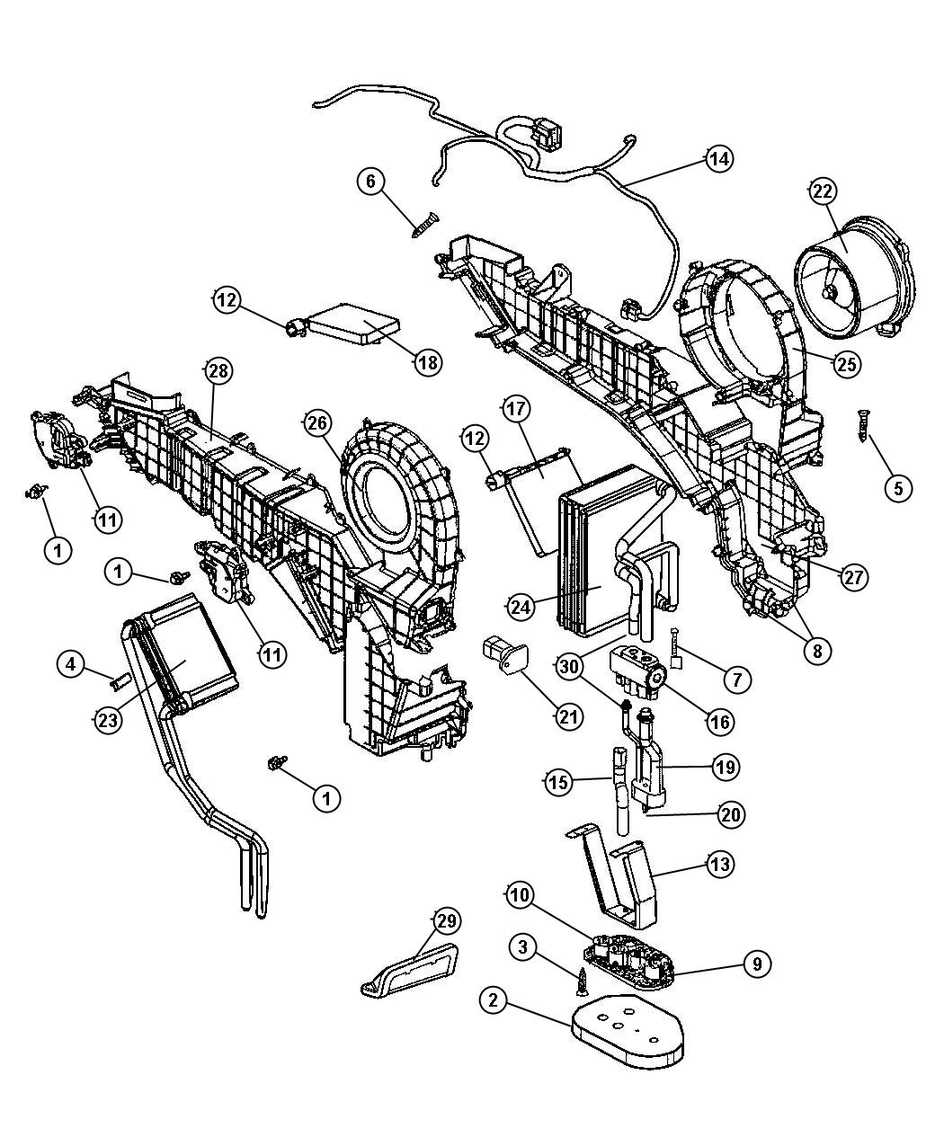 Dodge Durango Valve Expansion Air Heater