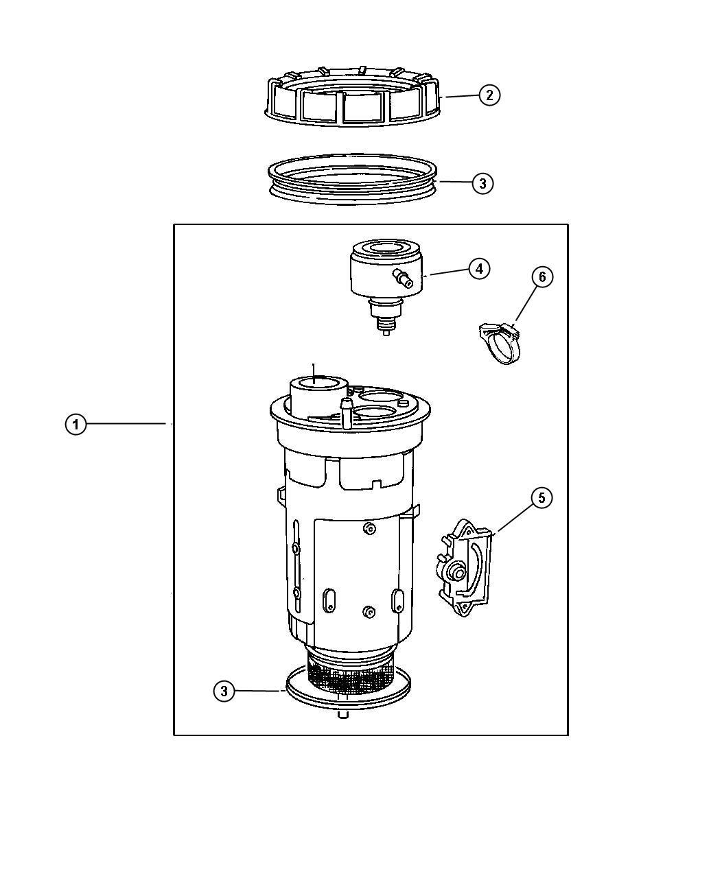 Jeep Grand Cherokee Filter Fuel Sunscreenlon