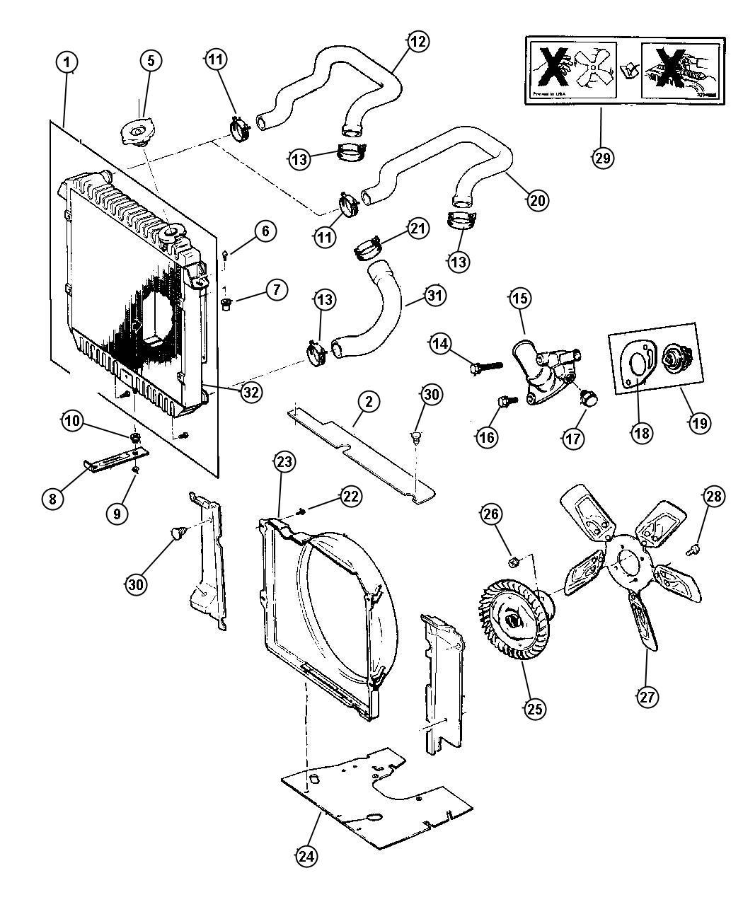 Jeep Cherokee Shield Engine Shield Engine Splash Related Radiator Cylinder