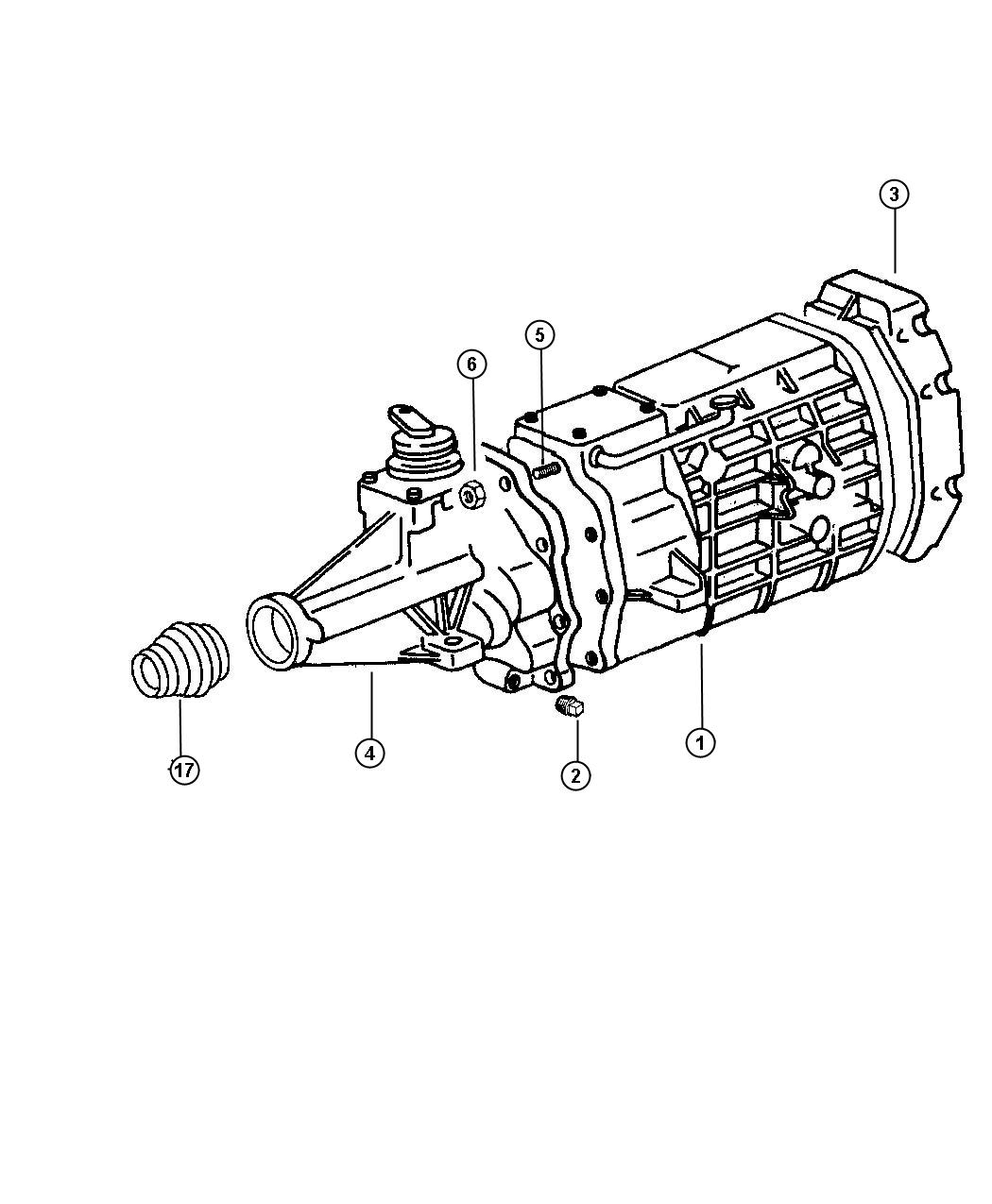 Dodge Viper Case Transmission Clutch Extension