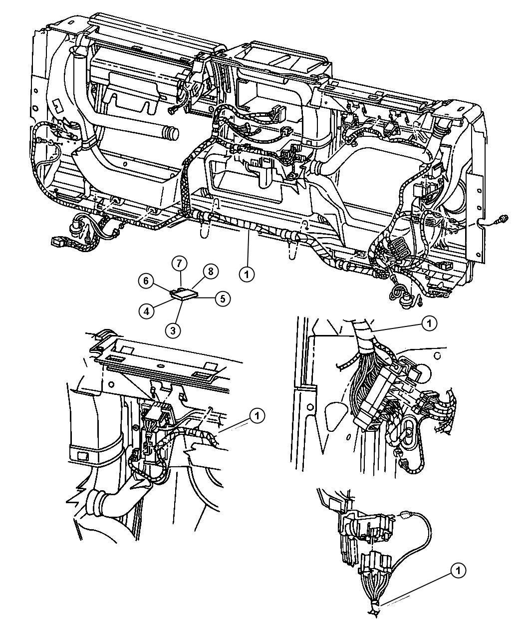 Diagram Of Jeep Wrangler 6 Cylinder Fuse Panel