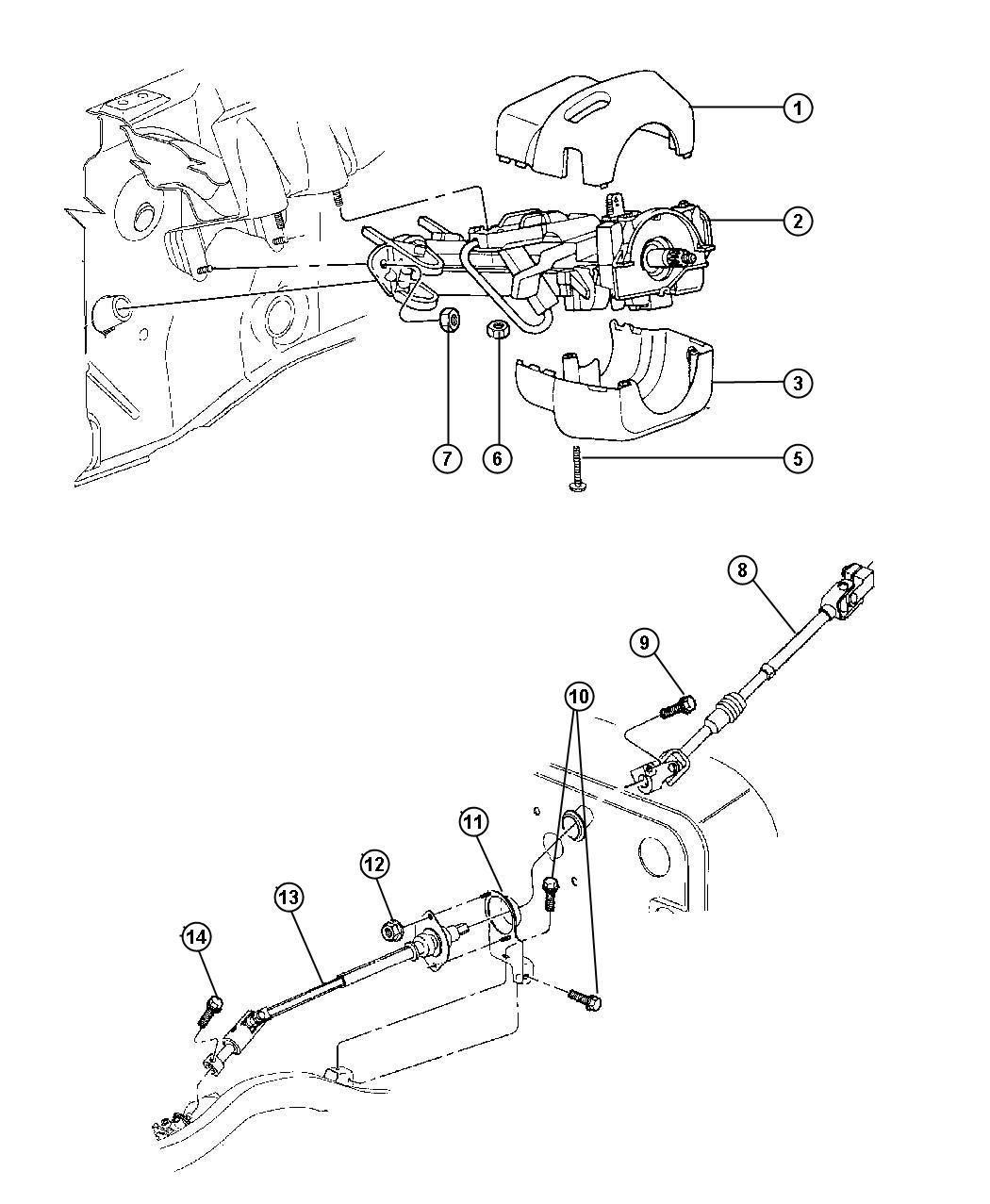 Jeep Wrangler Retainer Spring Export Preload Ptilt