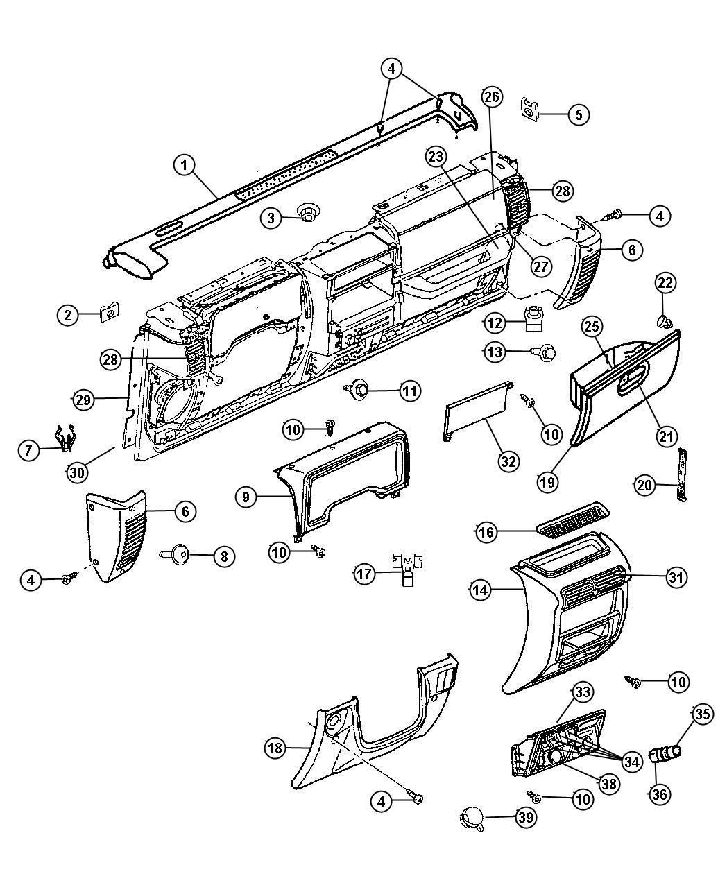 1998 jeep wrangler speaker size