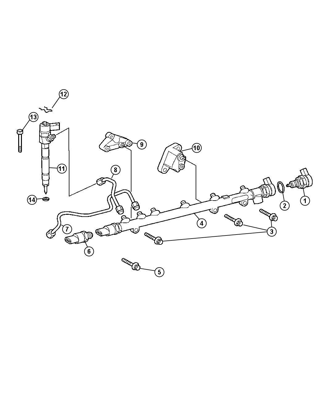 Dodge Sprinter Injector Fuel System