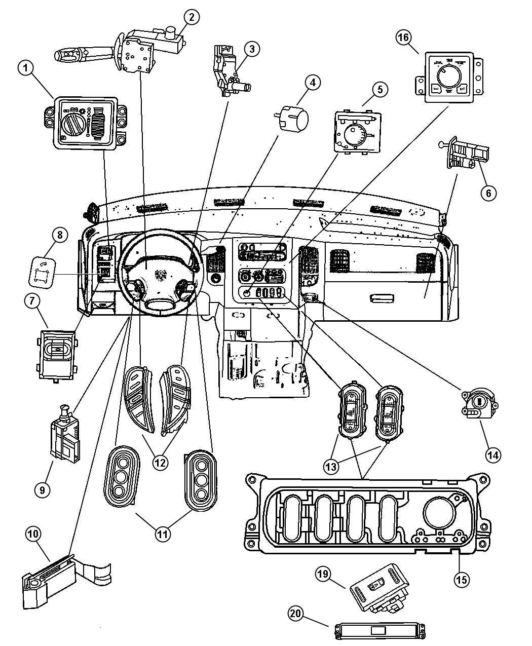 Dodge Ram Switch Clutch Idle Up Clutch Starter