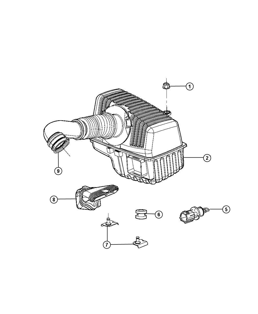 Dodge Stratus Filter Crankcase Vent Located In Body