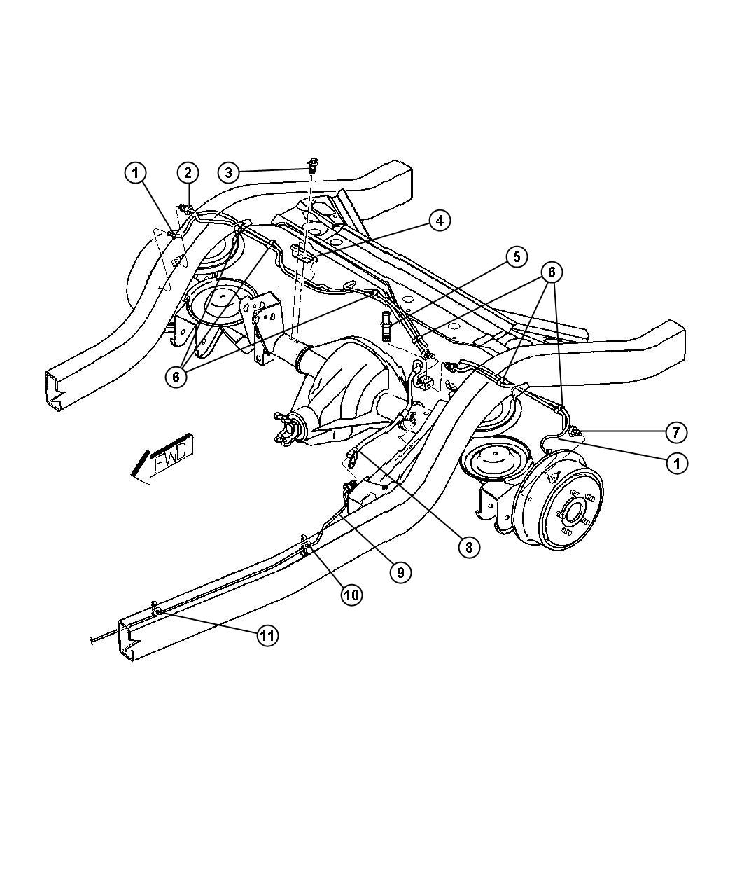 Jeep Wrangler Sensor Right Anti Lock Brakes Bgk