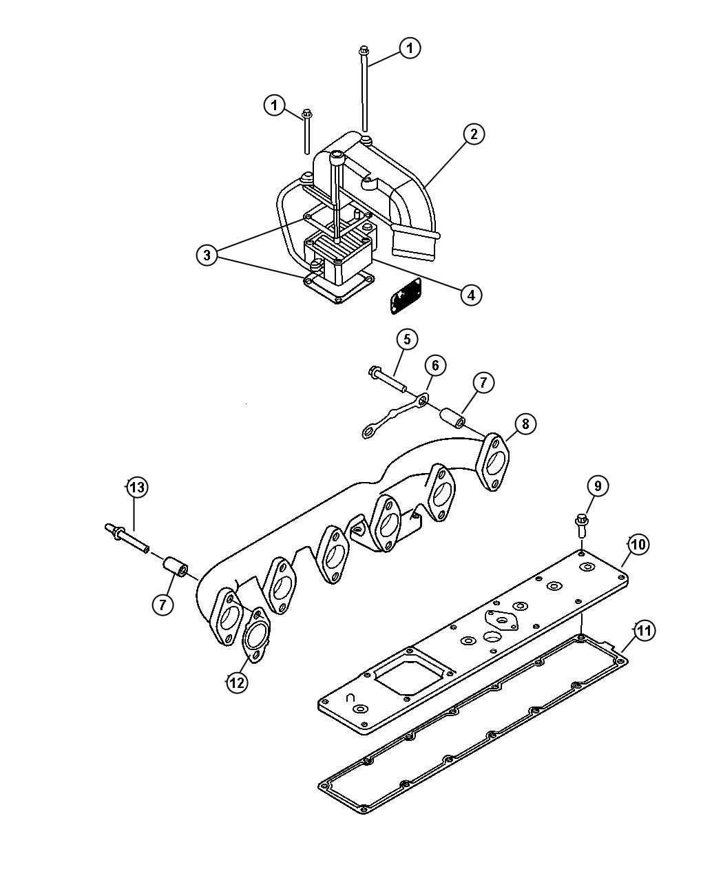 Dodge Ram Heater Air Intake Engine Federal