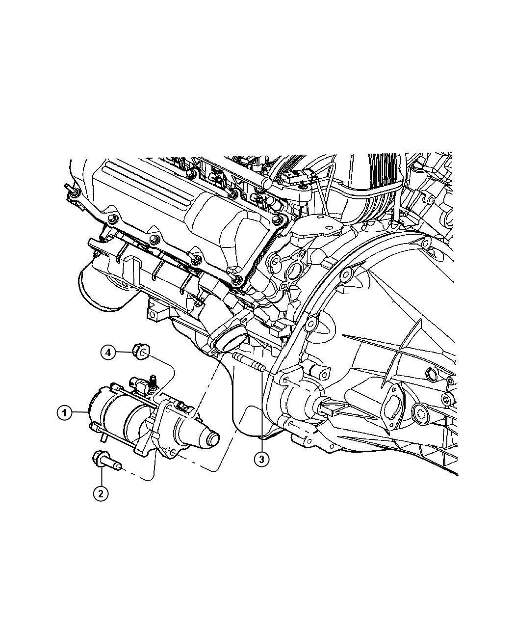 Dodge Dakota Starter Engine Remanufactured Gas Engines