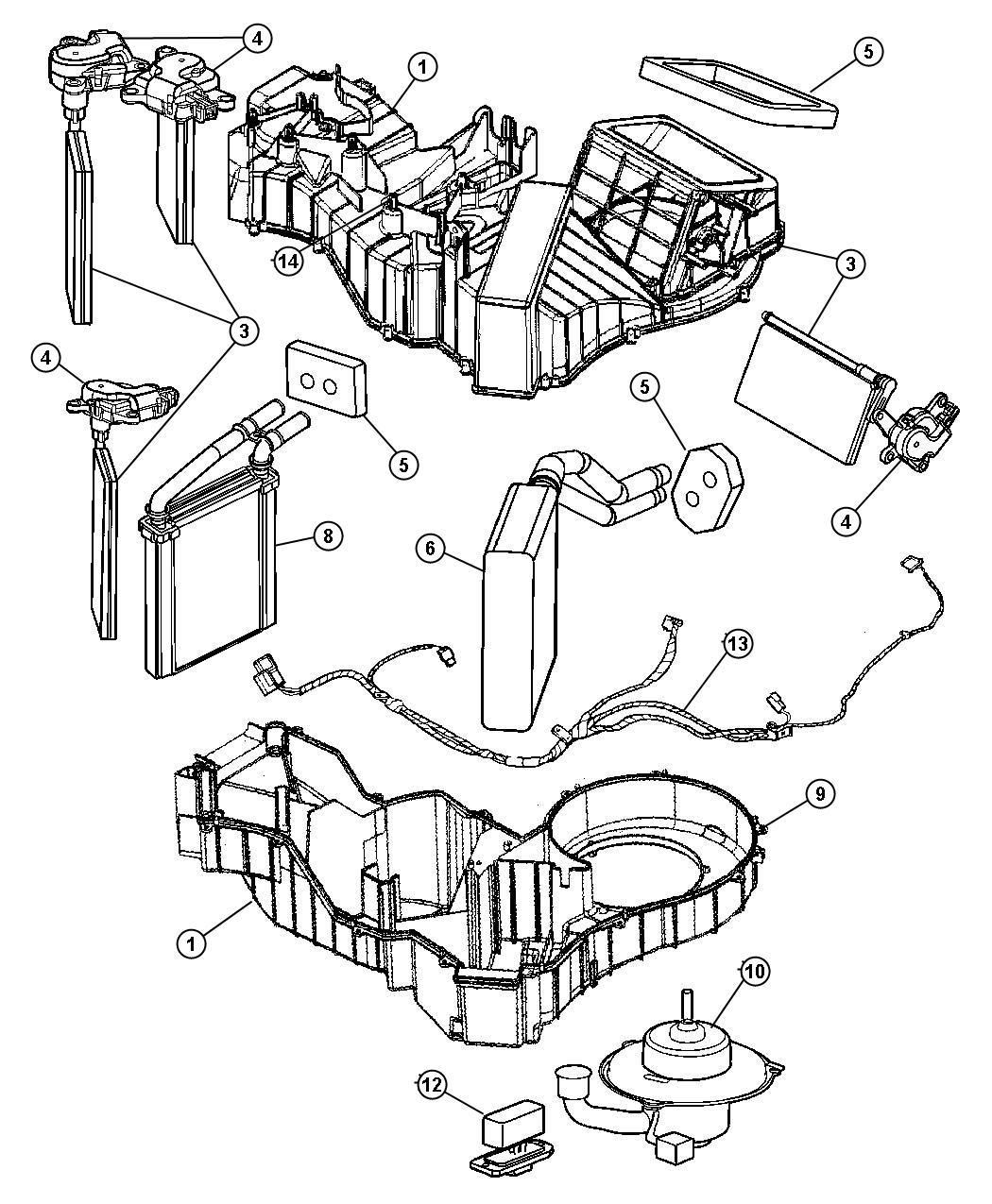 Dodge Viper Resistor Blower Motor Air Conditioning
