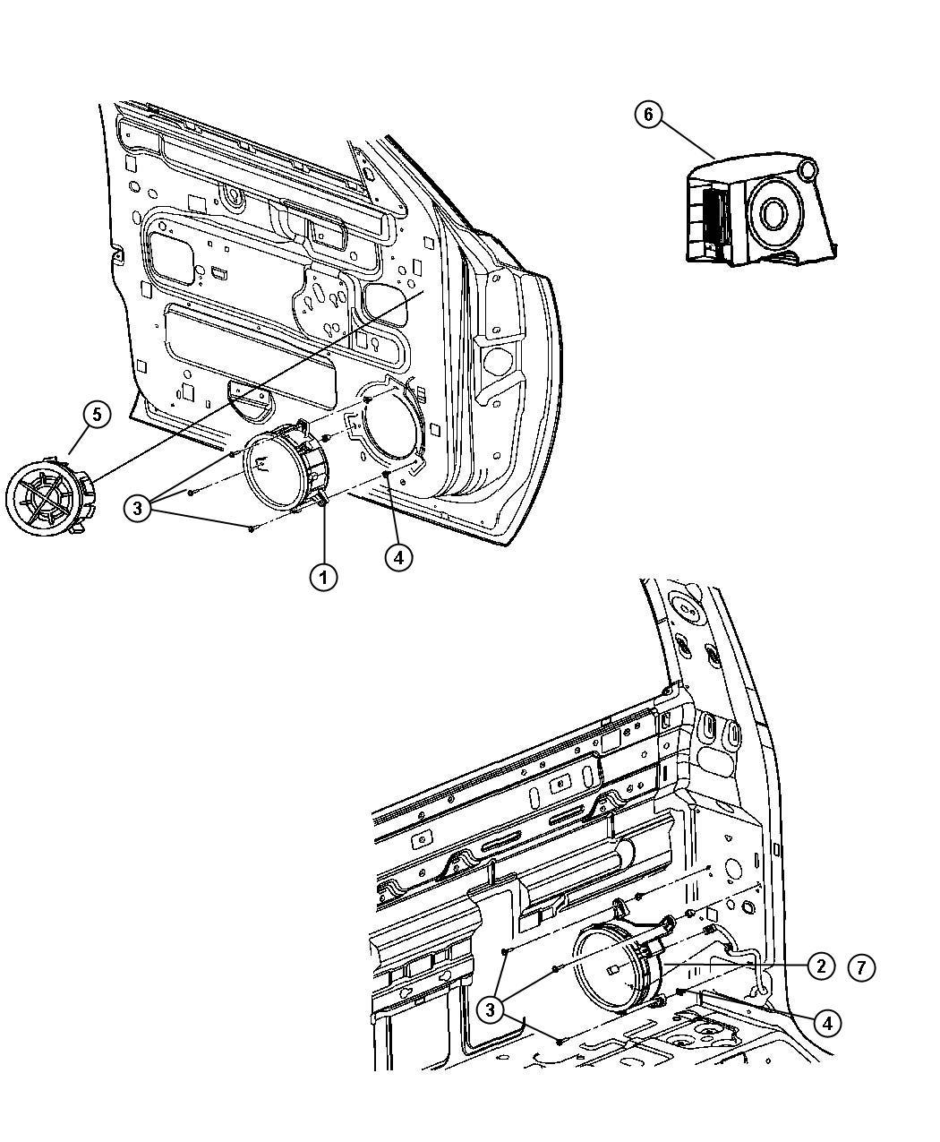 Dodge Dakota Screw 190 16x1 00 Mounting Side