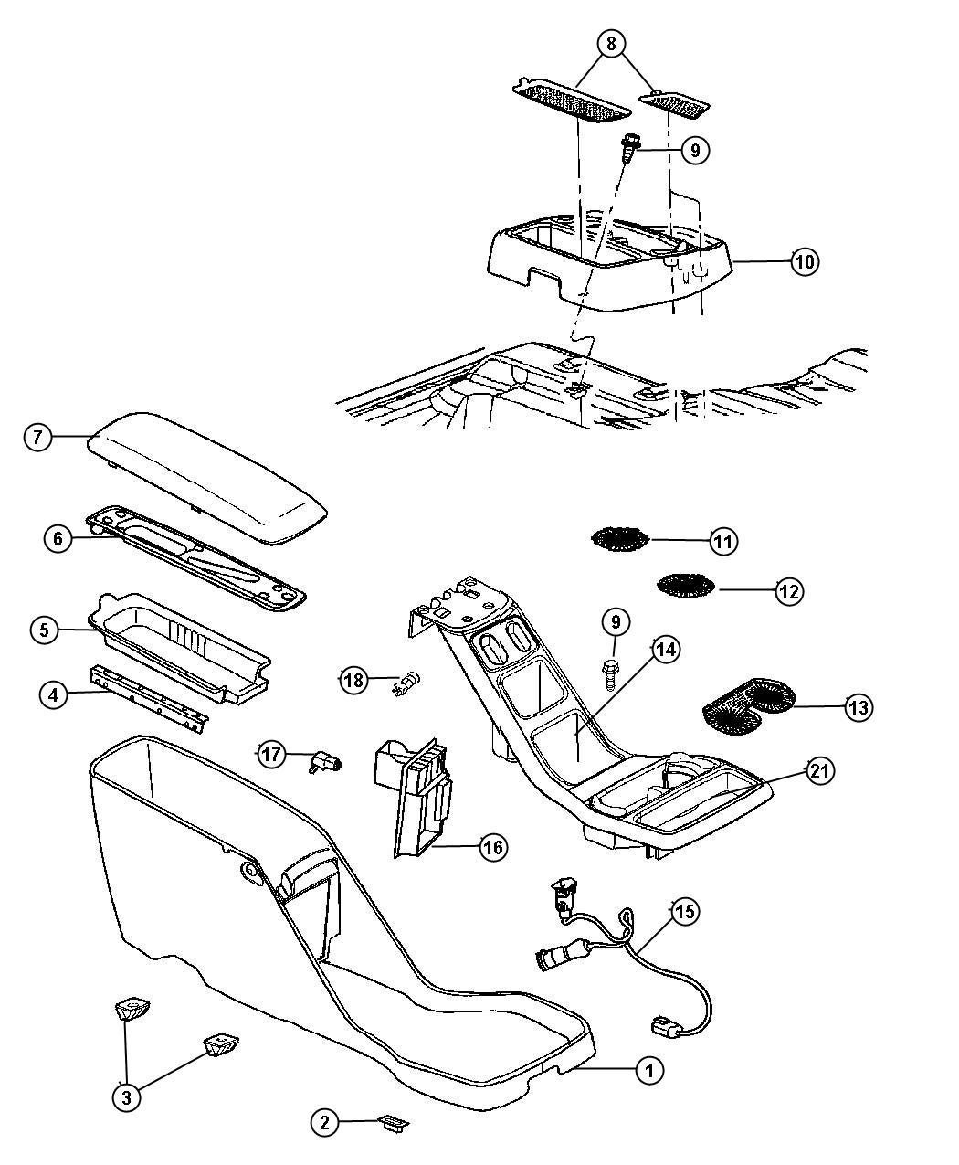 Dodge Dakota Wiring Console Floor Console Heated