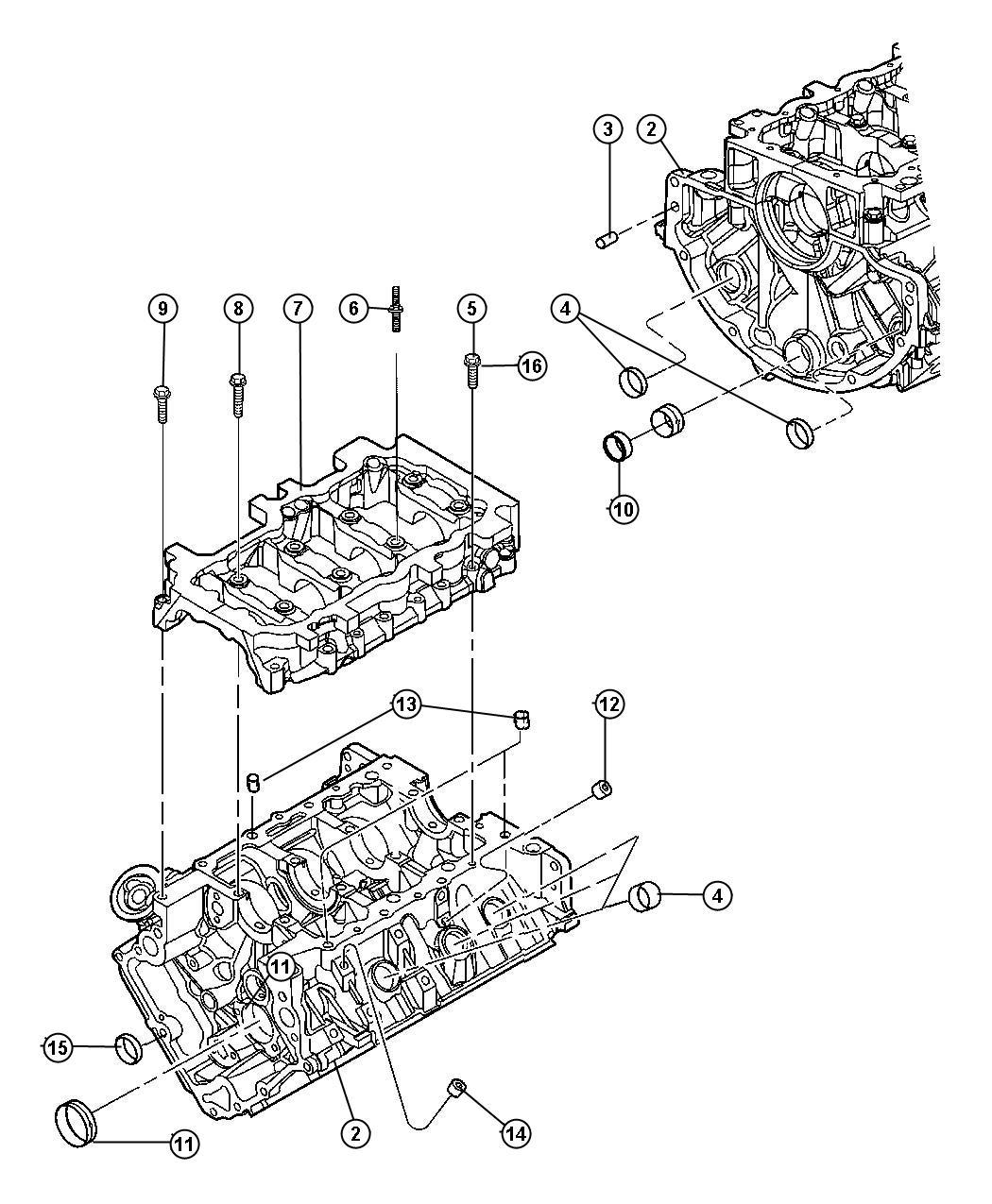 Jeep Commander Engine Long Block Remanufactured
