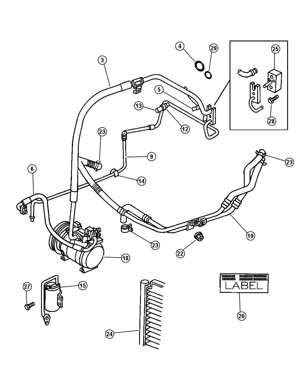Dodge Caravan Used For Hose And Tube Used For