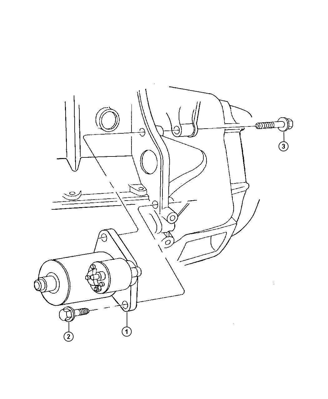 Dodge Neon Starter Engine Motor Cylinder