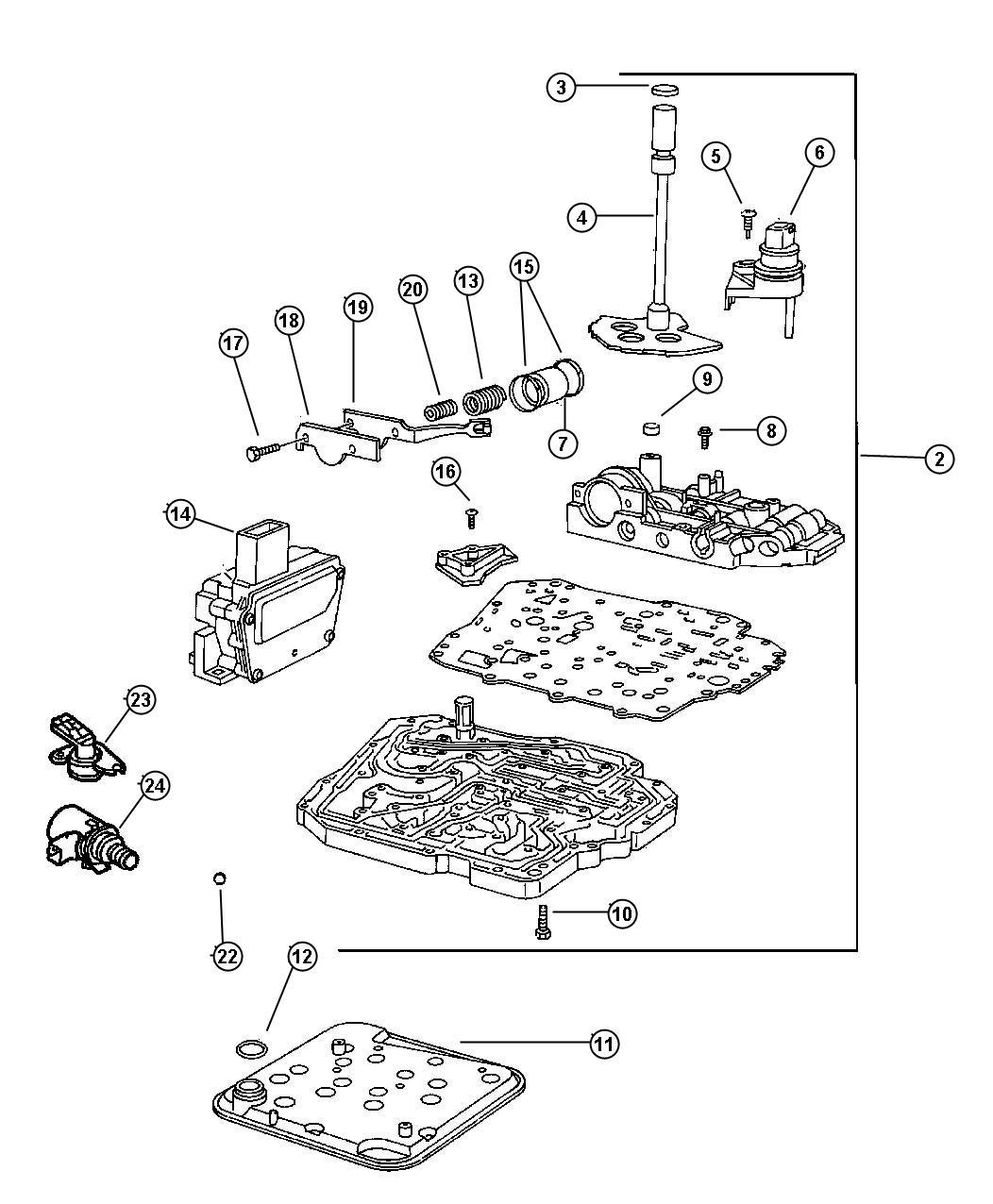 Dodge Ram Solenoid Solenoid Package Transmission